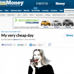 In the Media – My very cheap day