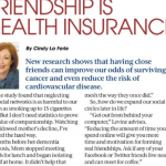 In the Media – Friendship is Health Insurance (Detroit Free Press)