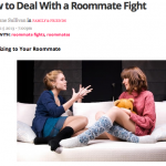 In the Media – How to deal with a roommate fight (Hercampus.com)