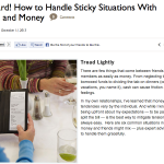 In the Media – How to Handle Sticky Situations With Friends and Money