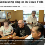 In the Media – Socializing Singles in Sioux Falls (Argus Leader)
