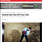 In the Media – How to knock fear out of your life (Men's Health)
