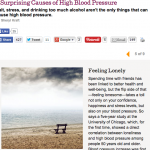 In the Media – 7 Surprising causes of high blood pressure (Grandparents.com)