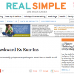 In the Media – How to handle awkward ex run-ins