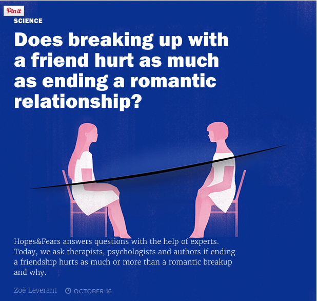 Why breaking up is so
