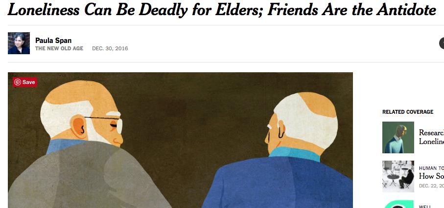 On Elder Friendships (screenshot)