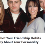 In the Media – On Friendship and Personality (ATTN:)
