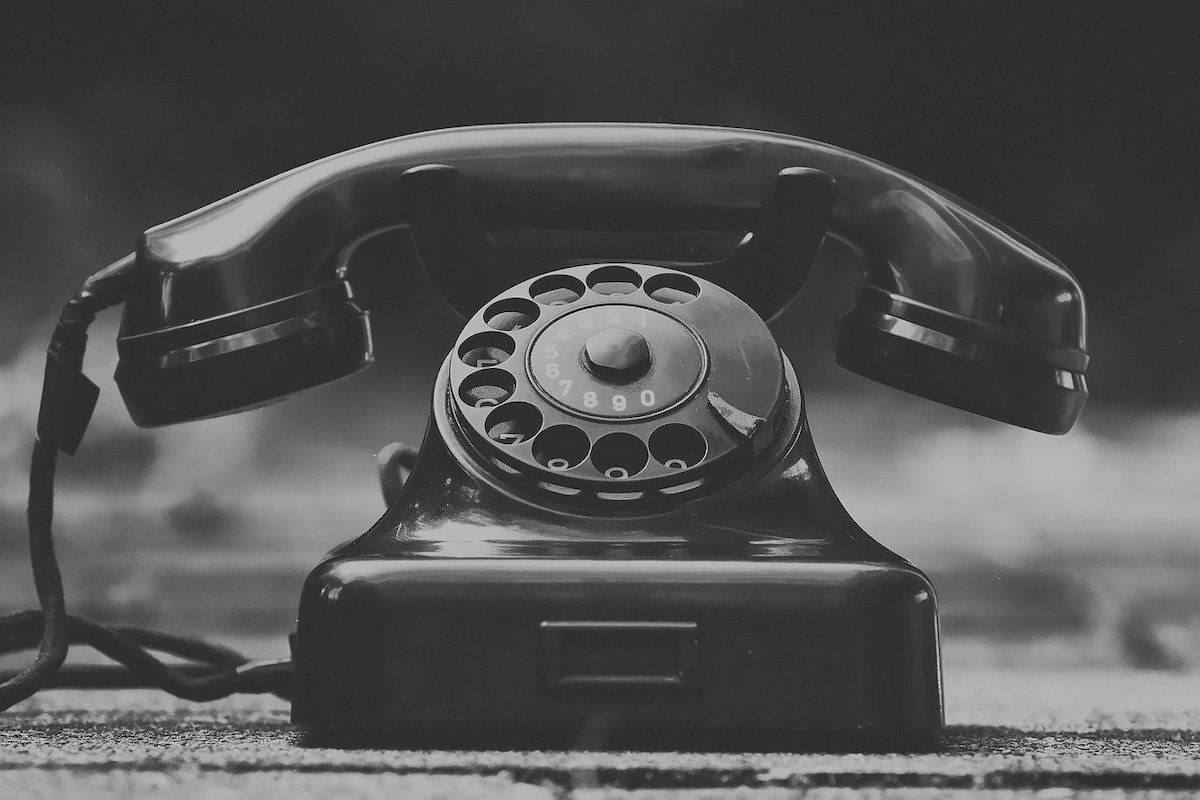 A call list may seem old fashioned but it can be a lifesaver