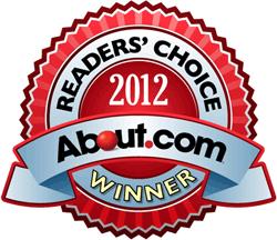 About.com Reader's Choice Award