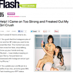 In the Media – Help! Freaked out my girl crush