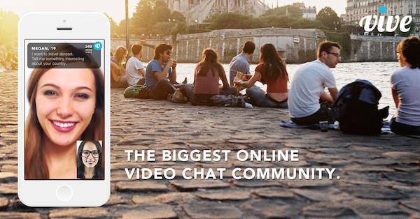 Vive, a video chat community