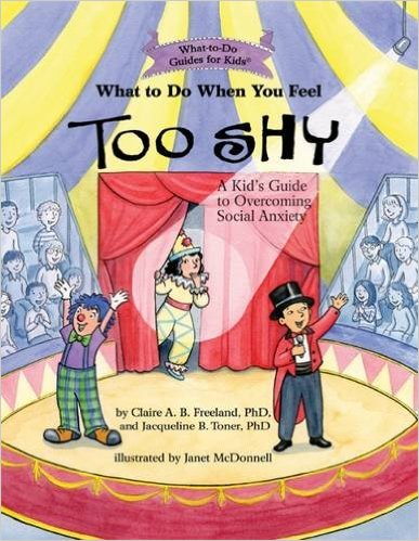 Too Shy: A book for parents and children