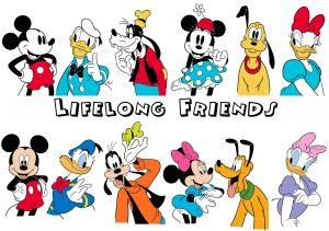 Mickey & Friends (Credit: Kim Raymond for Disney)